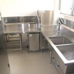 厨房機器設置工事